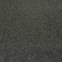 Wool Rib - Dark Grey