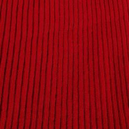 Wool Rib - Red