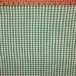Gingham Green Small