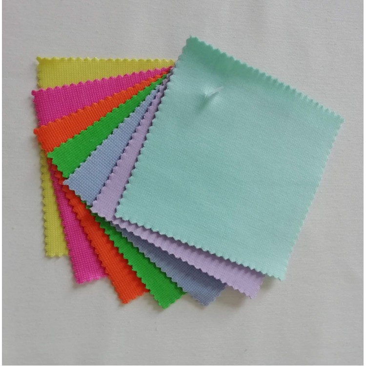 Sample Jersey Rib Cuff Colours