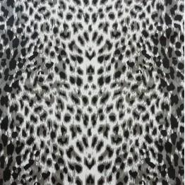 Single Jersey Snow Leopard
