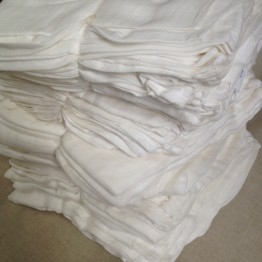 Bamboo and Organic Cotton 25 Muslin Cloths 120x120cm wholesale
