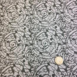 Crossweave Scratch Funky Prints - Stone Spirals