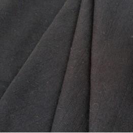 Jersey Rib Cuff Black