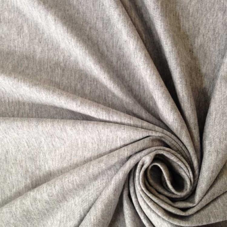 Jersey Mix Bamboo + Organic Cotton - Grey Marl (Super Jersey)