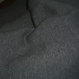 Fleece - Dark Grey  Melange