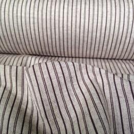 Crossweave - Stripe Linen Look