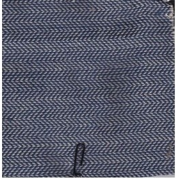 Herringbone Dark Blue