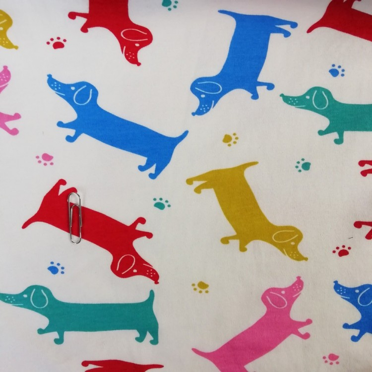 Jersey Interlock Dogs
