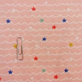 Single Jersey Wave Pink