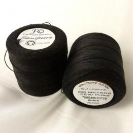 Thread Black - Sewpure Tex 70 - 300M